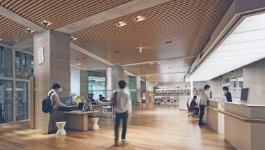 明治大学和泉新図書館