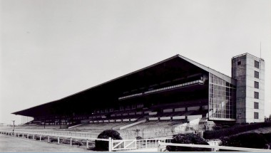 旧 阪神競馬場スタンド